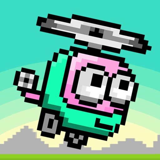 MiniCopters - Pixel Art Swing Fun Action iOS App