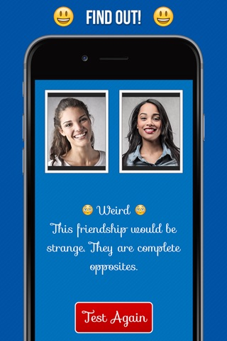 Friendship Calculator - Best Friends Forever Compatibility Test screenshot 2