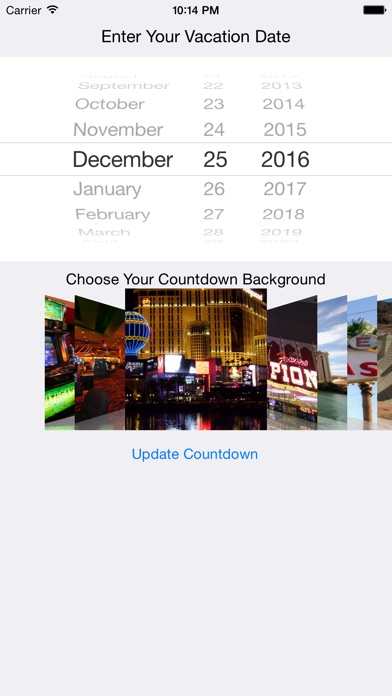 Vegas Vacation Countdown App Download Android Apk