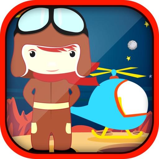 Interstellar Copter Warfare - Space Alien Robot Defense- Free iOS App