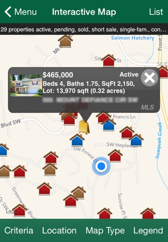 John L. Scott Home Search screenshot 2