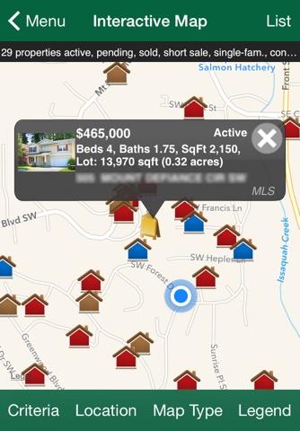 John L. Scott Home Search screenshot 2