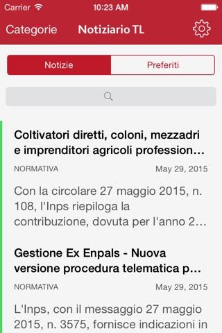 Notiziario TL screenshot 4
