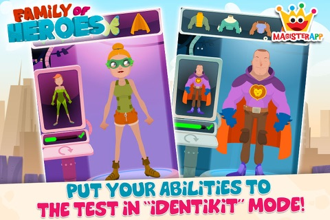Family of Heroes for Kids screenshot 4