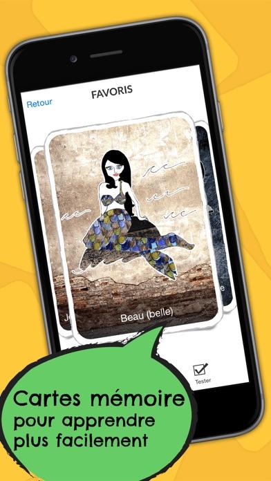 Polonais Dictionnaire - Guide de conversation en ligne gratuit avec cartes mémoire et voix d'un locuteur natifCapture d'écran de 3