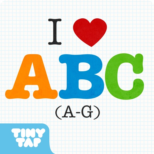 I Love A.B.C (A-G) - Learn the alphabet letters A to Z