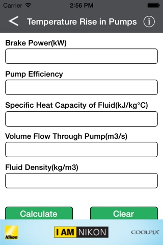 Electrical Eng Calculator screenshot 2
