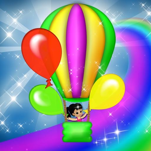 Colors Ride Magical Balloons Simulator Game iOS App