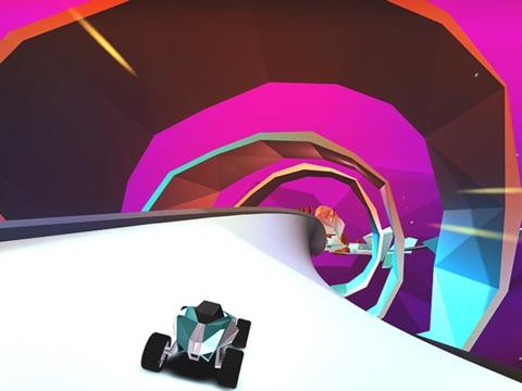 Скачать игру Stunt Rush - 3D Buggy Racing