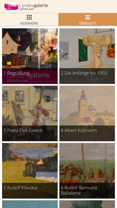 Landesgalerie Burgenland Guide Screenshot