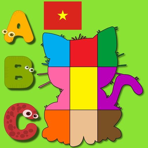 Vietnamese Puzzles For Kids iOS App