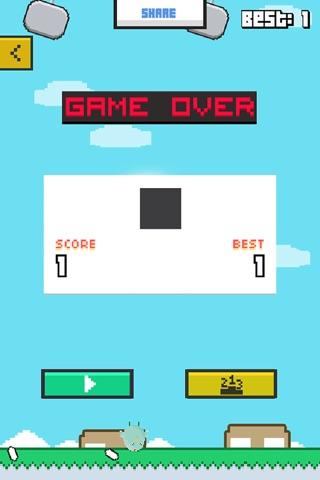 Swinging Chicken - Endless Arcade Hopper screenshot 3