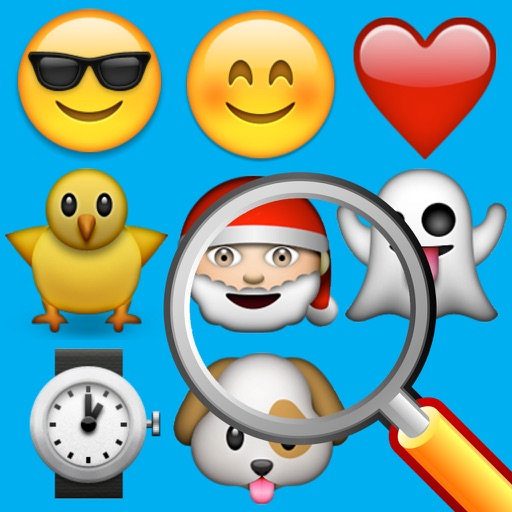 Find the Emoji - A Simple Quest iOS App