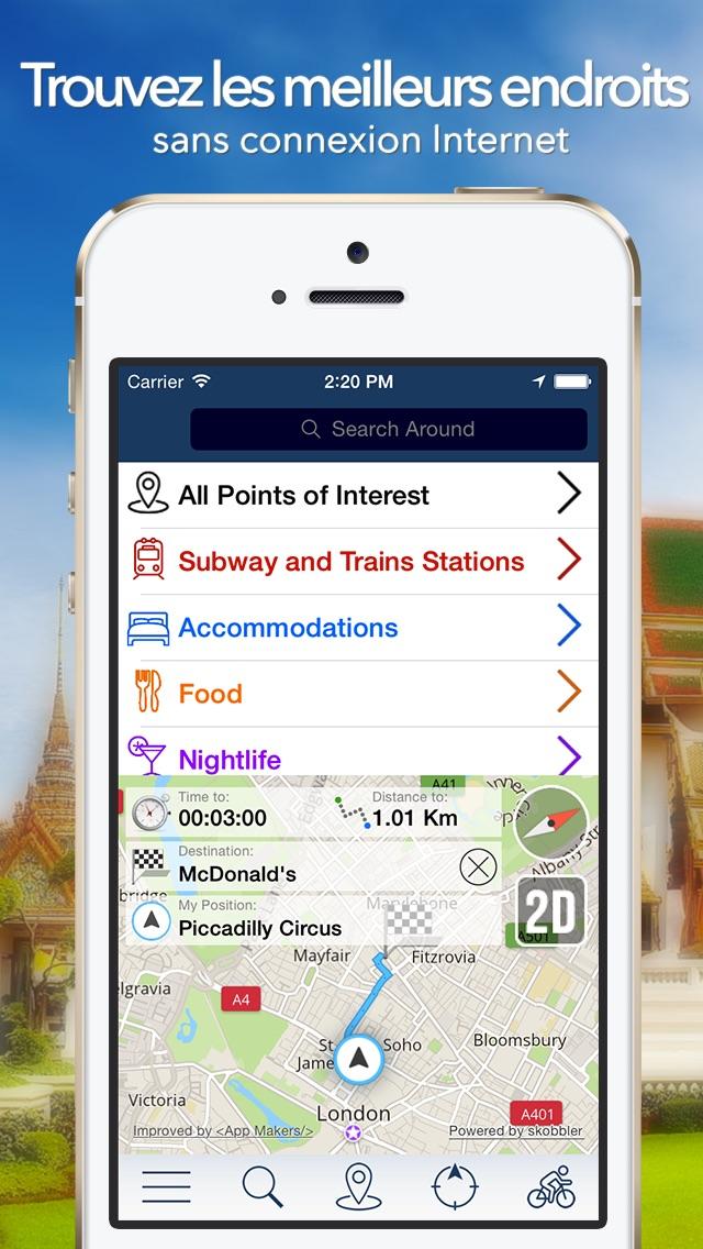 Lisbonne Offline Carte + Guide City Navigator, Attractions et TransportsCapture d'écran de 2