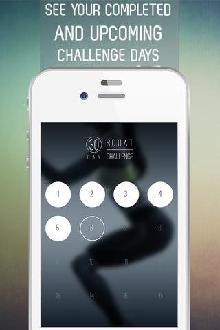 30 Day Squat Challenge for Strong Legs and Butt screenshot 2
