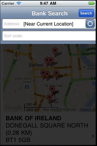 Bank Info screenshot 3