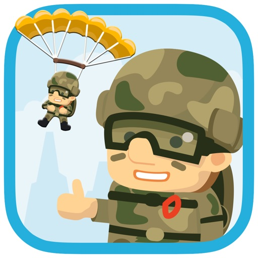 Catch-A-Trooper : Save the Paratroopers! iOS App