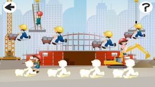 Screenshot of Attivo! Dimensionamento Gioco Per i Bambini Per Imparare e Giocare Con un Cantiere2