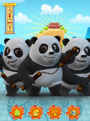 Talking Bruce the Panda for iPad Скриншоты4