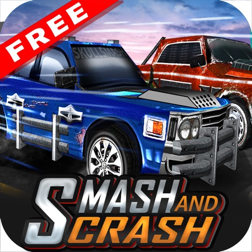 Smash and Crash Free ( Car Elimination Racing Game ) iOS App