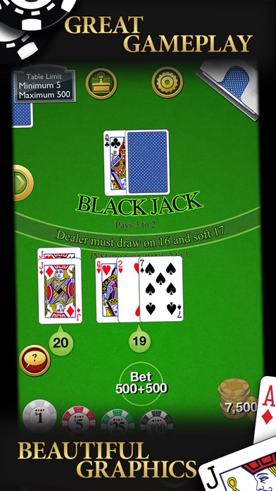 Blackjack review screenshots