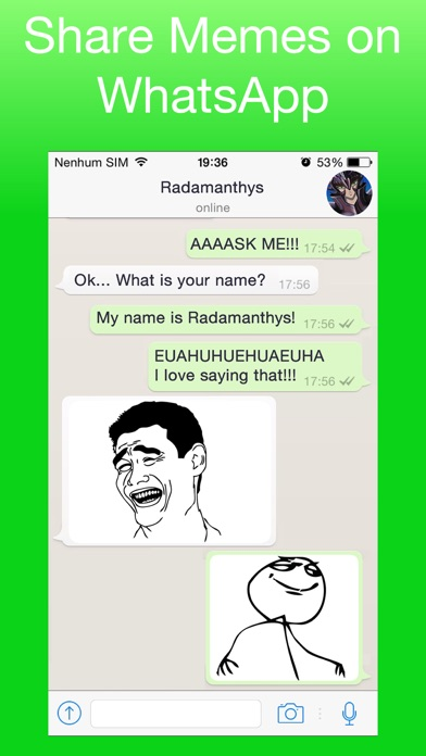 392x696bb top memes funny stickers free on the app store,Whatsapp Meme