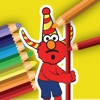 Coloring Book for Sesame edition : Street Version