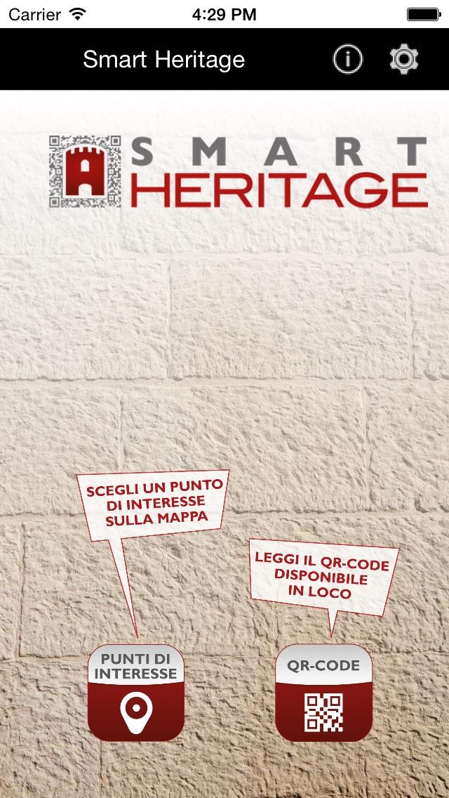 Screenshot of SmartHeritage1