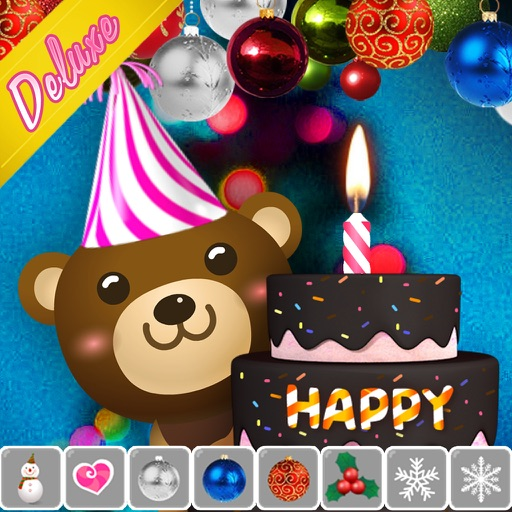 Happy Birthday CakeDeluxeBirthday Candles IOS App