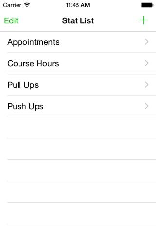 Stat App screenshot 2