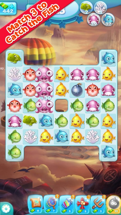 download Marine Adventure -- Collect and Match 3 Fish Puzzle Game for TANGO apps 1