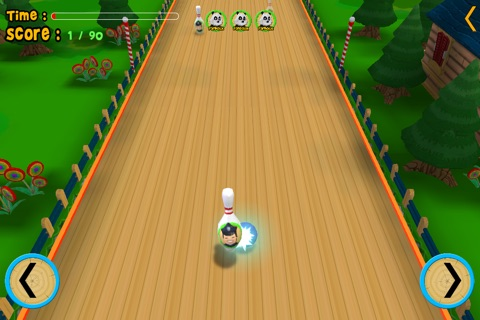 jungle animals and bowling for kids - no ads screenshot 3