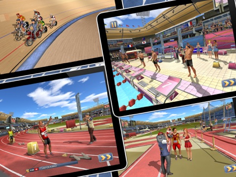 Screenshots of Athletics 2: Summer Sports - Free for iPad