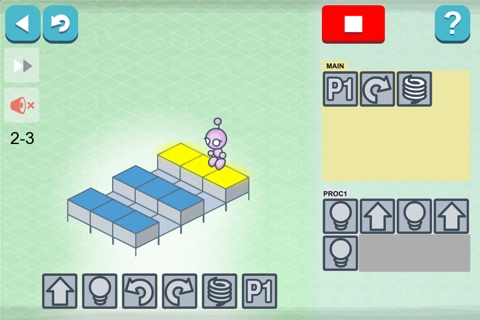 Lightbot : Programming Puzzles screenshot 3