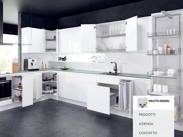 Soluzioni Salvaspazio Cucina : Vauth sagel soluzioni salvaspazio per la cucina by vauth sagel