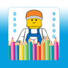 Kids Game Coloring Pages Lego City Edition ( Unofficial )