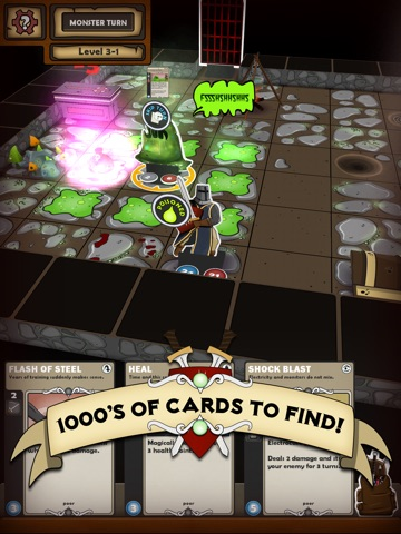 Card Dungeon на iPad