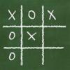 Tic Tac Toe Chalkboard Classic