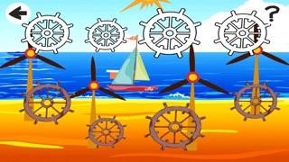 Enfants Animés Lecture & Jeux D'apprentissage Pour Gratuit Open Parti Mer Avec des BateauxCapture d'écran de 4