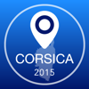 Corsica Offline Map + City Guide Navigator, Attractions and Transports