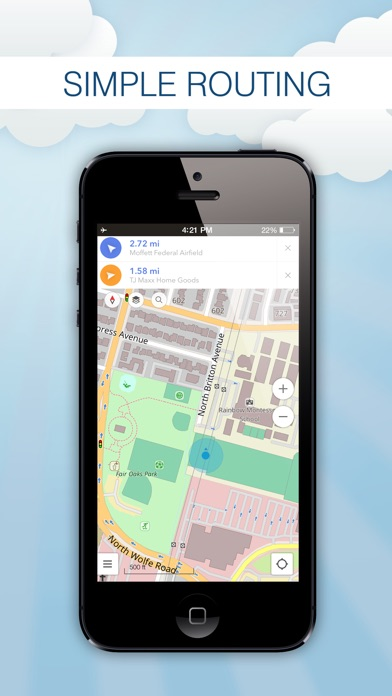 download Annie Map for Travel – Offline Map, POI Search, GPS Location, Simple Directions apps 3