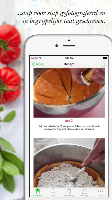 Download Italiaanse Keuken HQ App