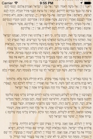 Pocket Luach - The Jewish Calendar (siddur, zmanim) screenshot 4