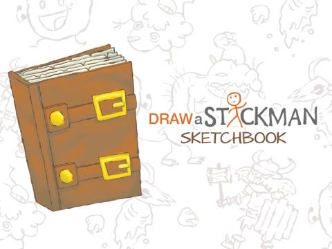 Draw a Stickman: Sketchbook на iPad