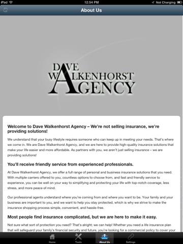 Dave Walkenhorst Agency HD screenshot 3