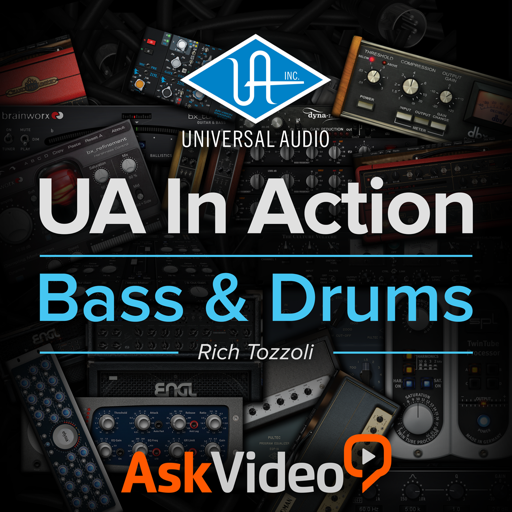 Drum and Bass Course For Universal Audio