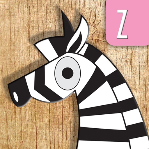 ABCD Animal Puzzle and Poems - Alphabet Game Book for boys & girls iOS App