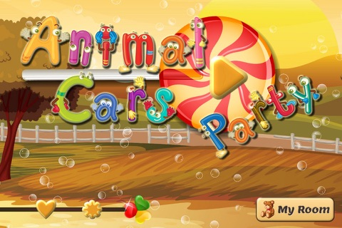 Animal Cars Party Free: Fun Games for Preschool Kids screenshot 1