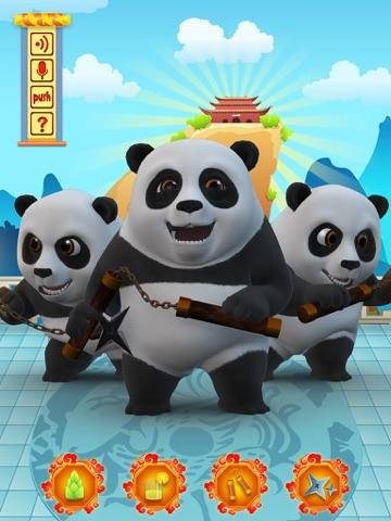 Screenshot #4 pour Talking Bruce the Panda for iPad
