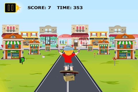 Skater Kid Dash Pro - Street Surfers Challenge screenshot 3